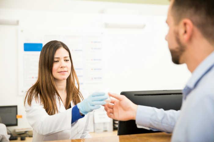 Raccolta campione per spermiogramma, guida al paziente