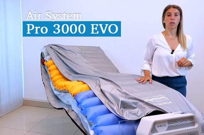 Sistema antidecubito a medio/alto rischio Air System Pro 3000 EVO