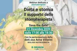 Dieta e stomia: il supporto dello stomaterapista