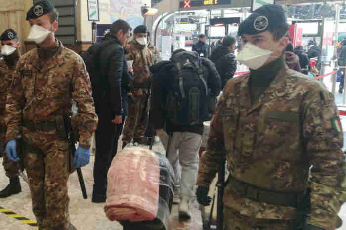 Gualtieri: infermieri e medici militari in supporto al SSN