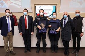 SIIET e gli OPI ER premiano la professionalità degli operatori della CO 118
