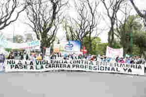 Un'ondata di scioperi attraversa l'Argentina