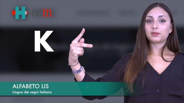Alfabeto LIS - Lingua dei segni italiana