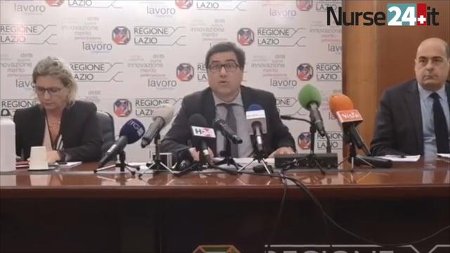 Covid-19. Procedura straordinaria assunzioni infermieri e OSS nel Lazio