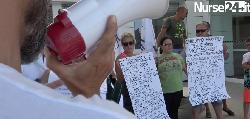 Stop aggressioni ai sanitari, Flash mob al PS di Rimini