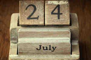 24 luglio, il mio indice di frattura