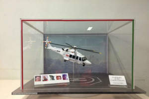 L'elicottero precipitato torna al 118, ma come modellino