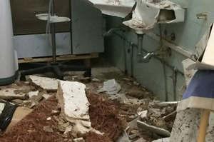 Sardegna, crolla il soffitto nella sala pre-operatoria