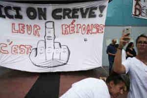 Rouvray, in sciopero della fame contro la contenzione