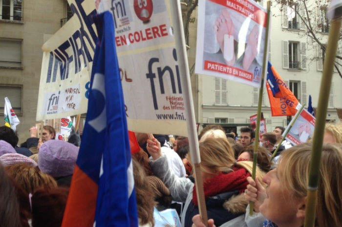 sciopero in francia