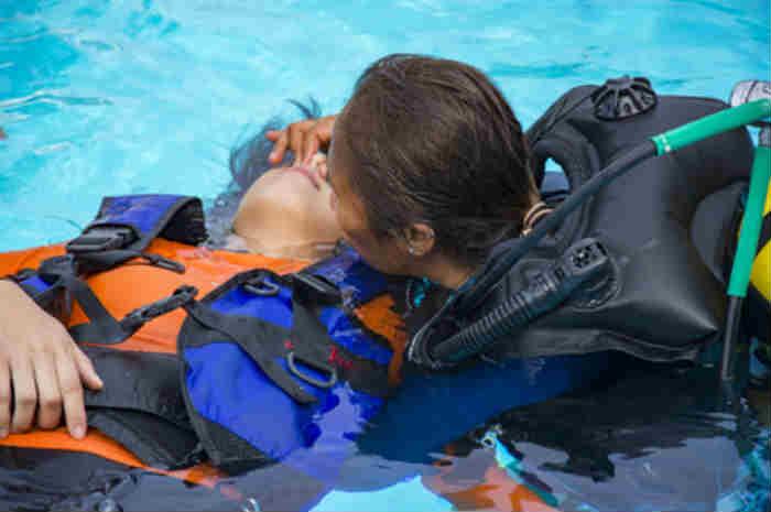 soccorsi a persona annegata