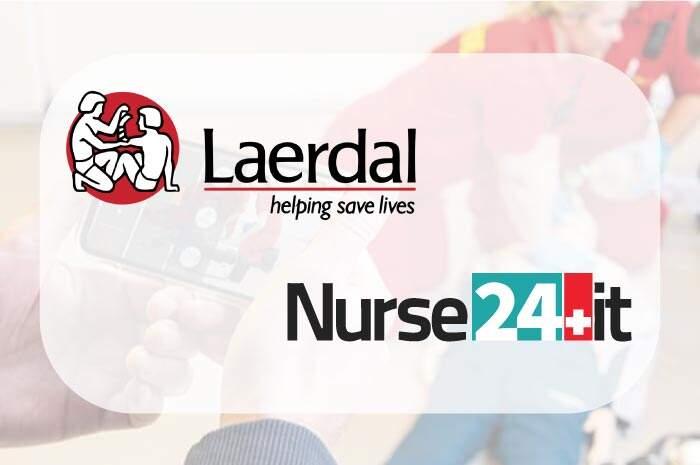 Laerdal e Nurse24.it partner nella simulazione in sanità