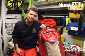 Zaino di soccorso in emergenza extraospedaliera