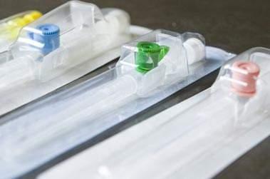 catetere venoso periferico in scatola