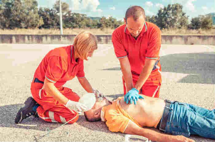 rianimazione cardiopolmonare in arresto cardiaco