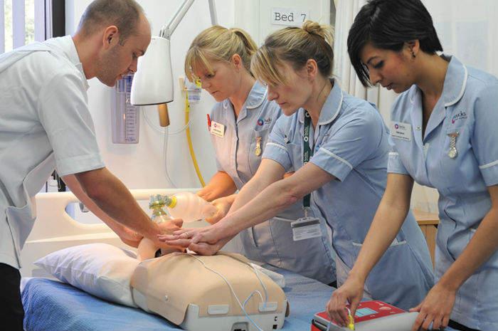 infermieri in Uk