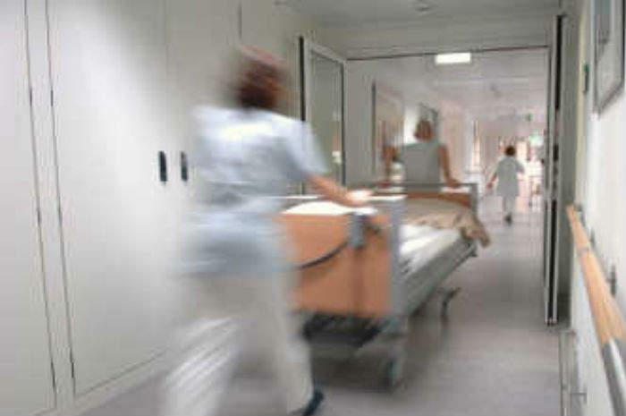 Corsia dell'ospedale