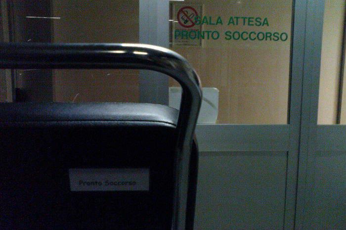 sala attesa di pronto soccorso