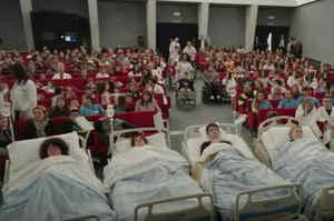Con il cinema in ospedale migliora la percezione del dolore