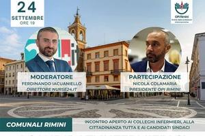Comunali Rimini 2021: i candidati infermieri si presentano