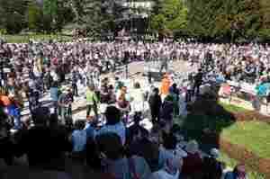 Opi Trento contro la manifestazione degli infermieri no vax