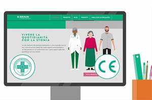 Vivere la stomia, web App dedicata alle persone stomizzate