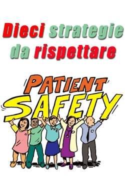 Le 10 regole per migliorare la sicurezza dei pazienti