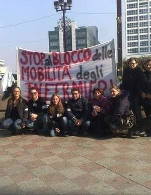 Sblocco Mobilità: 12 Maggio Sit-In a Napoli presso Regione Campania