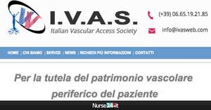 Nasce IVAS, la prima società scientifica italiana accessi vascolari