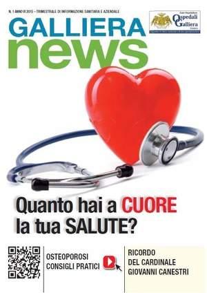 In distribuzione a Genova e sul web il trimestrale degli Ospedali Galliera